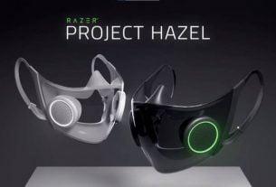 Razer yüz maskesi